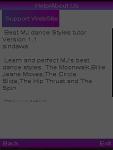 Best MJs dance styles tutor screenshot 1/1