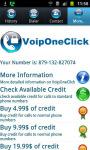 Voip One Click screenshot 2/3