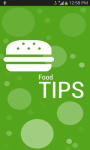 Food Tips screenshot 1/3
