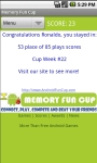 Memory Fun Cup - AndroidFunCup screenshot 3/6
