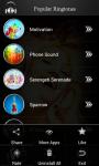 Popular Ringtones 2014 screenshot 3/5