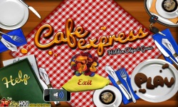 Free Hidden Object Game - Cafe Express screenshot 1/4
