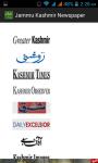 Jammu Kashmir Newspaper screenshot 1/5