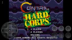 Contra Hard Corps 1994 SEGA screenshot 1/4