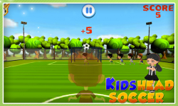 Kids Head Soccer screenshot 4/6