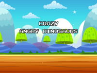 Crazy Angry Dinosaurs screenshot 1/5