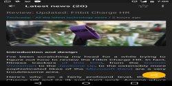The Techradar News screenshot 1/5