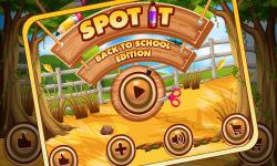 Spot It Back To School 1 screenshot 1/5