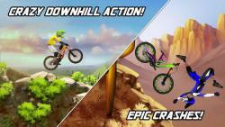 Bike Mayhem Mountain Racing safe screenshot 3/6