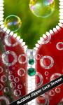 Bubbles Zipper Lock Screen screenshot 1/6