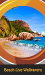 Top Beach Live Wallpapers screenshot 1/6