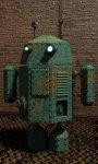 Steam punk droid live wallpaper screenshot 1/5