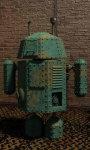 Steam punk droid live wallpaper screenshot 2/5