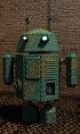 Steam punk droid live wallpaper screenshot 3/5
