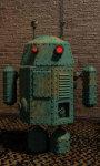 Steam punk droid live wallpaper screenshot 5/5