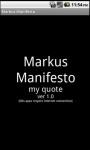 Markus Manifesto Quote screenshot 1/2