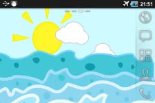Sea waves Live Wallpaper screenshot 2/2