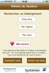 Htels du Qubec screenshot 1/1