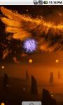 Flame Angel Cool Live Wallpaper screenshot 3/4