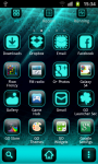 Cyanogen Theme Go Launcher screenshot 2/3