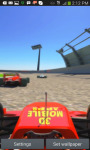 3D Formula Car Race Track LWP screenshot 2/3