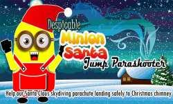 Despicable Minion Santa Jump Parashooter Xmas Game screenshot 1/6