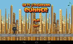 City StickMan Runner screenshot 1/3
