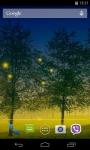 Fireflies 3D Live Wallpaper  screenshot 3/4
