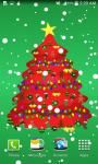 Colorful Christmas Tree Live Wallpaper  screenshot 2/6