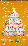 Colorful Christmas Tree Live Wallpaper  screenshot 4/6