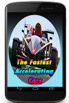 The Fastest Accelerating Cars screenshot 1/3