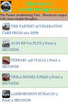 The Fastest Accelerating Cars screenshot 2/3