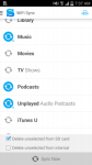 iSyncr per iTunes real screenshot 1/6