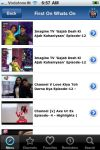 WHATS ON INDIA  TV Guide App  Iphone screenshot 1/5