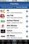 WHATS ON INDIA  TV Guide App  Iphone screenshot 3/5