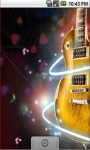 Music Guitar Abstract Live Wallpaper screenshot 1/5