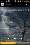 Lightning and Thunder Sounds screenshot 2/2