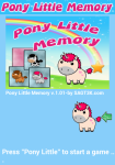 Pony Little Memory screenshot 1/6