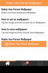 Robin van Persie Netherland Wallpaper screenshot 2/5