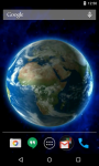 Earth 3D Live Wallpaper Free screenshot 1/4
