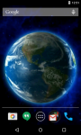 Earth 3D Live Wallpaper Free screenshot 2/4