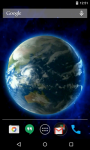 Earth 3D Live Wallpaper Free screenshot 3/4