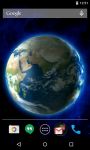 Earth 3D Live Wallpaper Free screenshot 4/4
