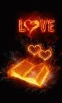 Fiery Love Book Live Wallpaper screenshot 1/3