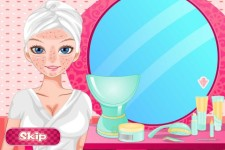 Elsa pajama time makeover screenshot 2/4