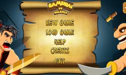 Samurai vs Pirates screenshot 1/4