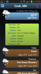 NOAA Snow Forecast absolute screenshot 1/3