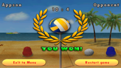 Blobby Volleyball screenshot 3/3