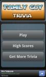 The Family Guy Trivia Game screenshot 1/3