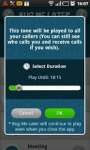 Bug Me Later by Muzicall screenshot 3/4